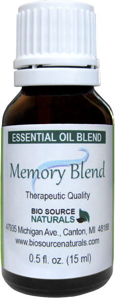 Memory Essential Oil Blend - 2.0 fl oz (60 ml) BLEMEM60ML