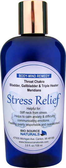 Stress Relief Body Mind Lotion 3.8 fl oz (112 ml) BSNSTRESS