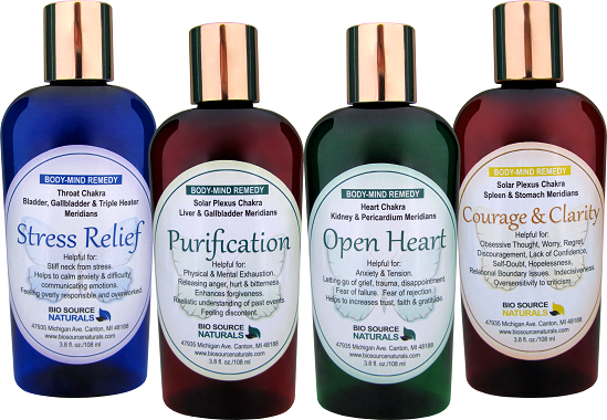 Four Body-Mind Remedy Lotions - $120 Value for $99.00 BSNALL4