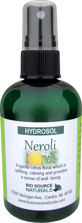 Neroli Hydrosol – Calming Spray 4 fl oz (120 ml) HSN