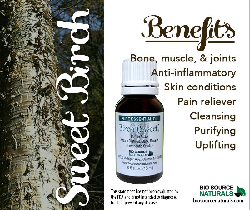 Birch Pure Essential Oil