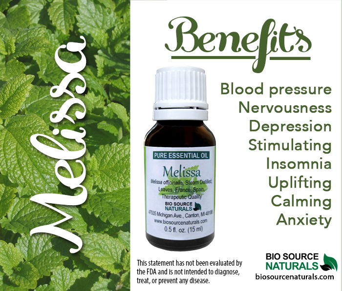 Melissa Pure Essential Oil - (Lemon Balm Oil)