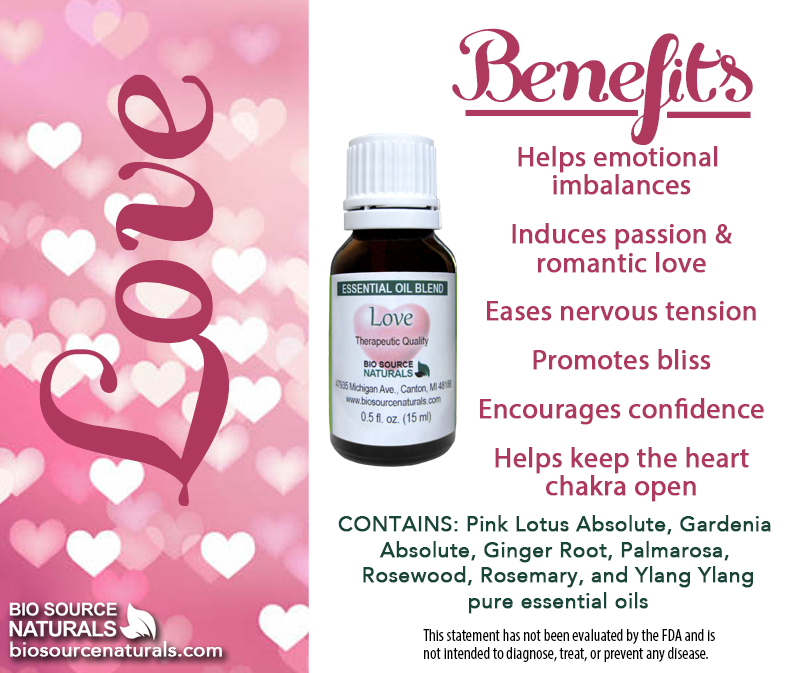 Love Essential Oil Blend - 4.0 fl oz (120 ml)