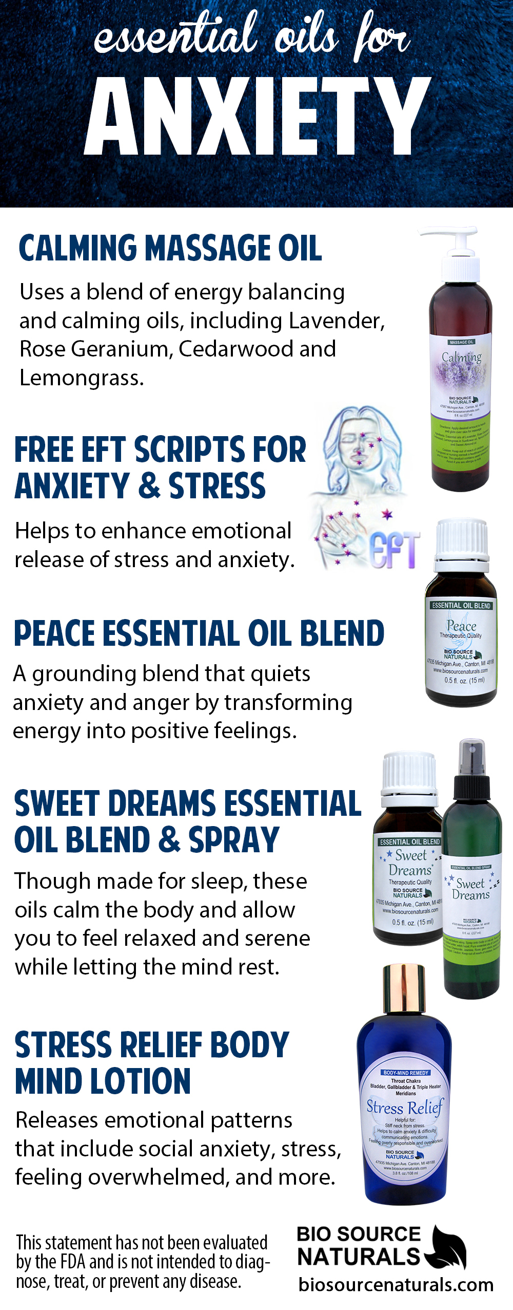 FREE EFT (Emotional Freedom Technique) Tapping Scripts for Anxiety/Stress  - EOTT™
