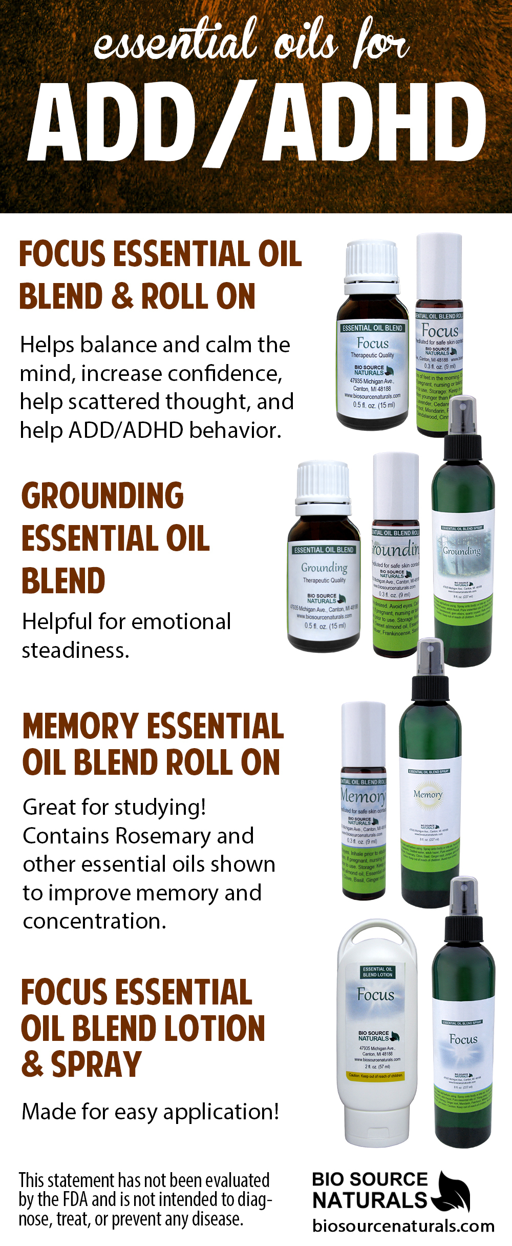 Grounding Essential Oil Blend - 2.0 fl oz (60 ml)