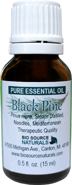Black Pine Pure Essential Oil 00333