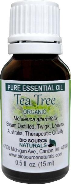 Tea Tree Organic Pure Essential Oil
