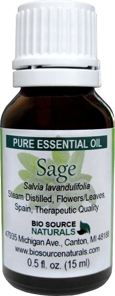 Sage Pure Essential Oil  (Spanish)