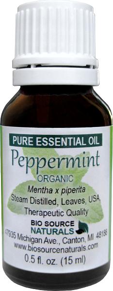 Peppermint Organic Pure Essential Oil 00256