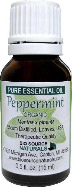 Peppermint Organic Pure Essential Oil
