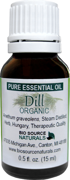 Dill Pure Essential Oil Organic - Hungary with GC Report 00137