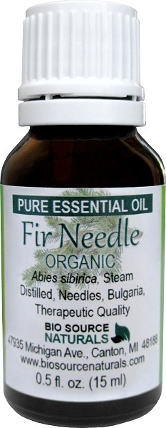 Fir Needle Pure Essential Oil Organic 00158