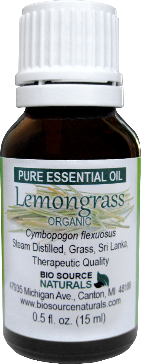 Lemongrass Organic Pure Essential Oil 00206