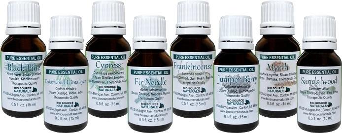 Pure Essential Oils - Spiritual Healing Oils Kit PEOSPIR8