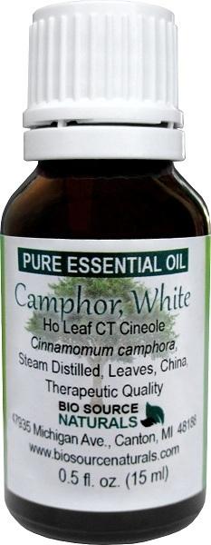 Camphor, White Pure Essential Oil - Ho Leaf CT Cineole 00103