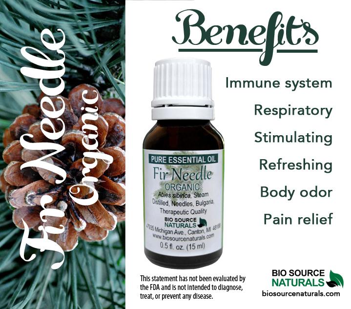 Fir Needle Pure Essential Oil Organic