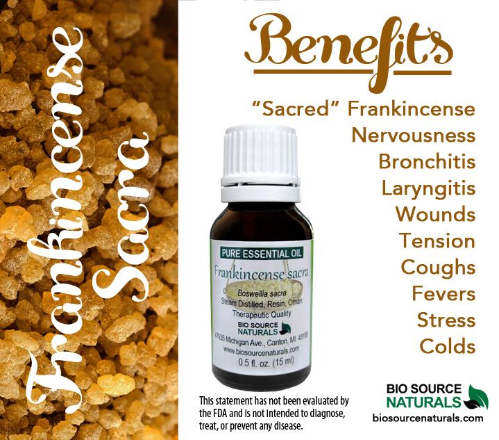 "Frankincense - Boswellia sacra ""Sacred"" Pure Essential Oil"
