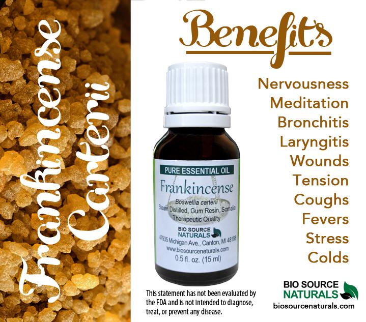 Frankincense Pure Essential Oil - 0.3 fl oz (9 ml) Roll On
