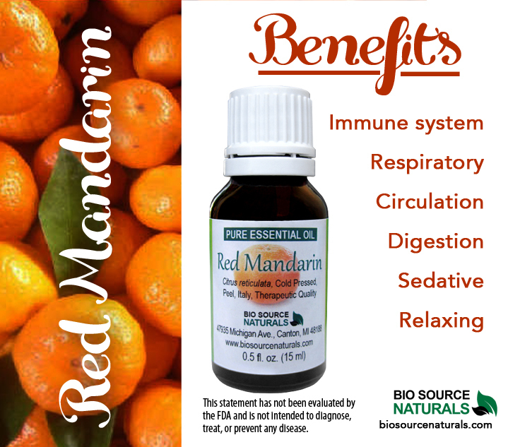 Red Mandarin Pure Essential Oil