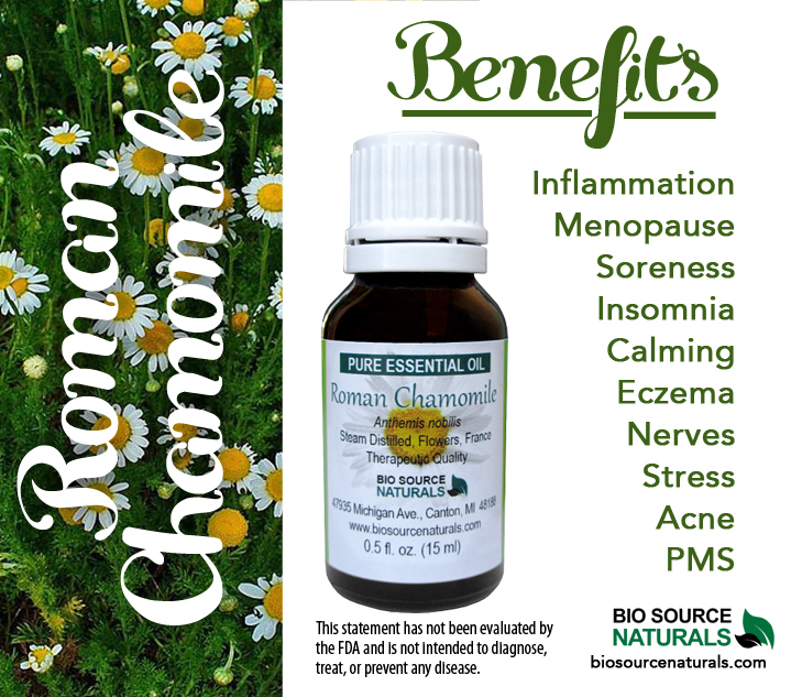 Roman Chamomile Pure Essential Oil