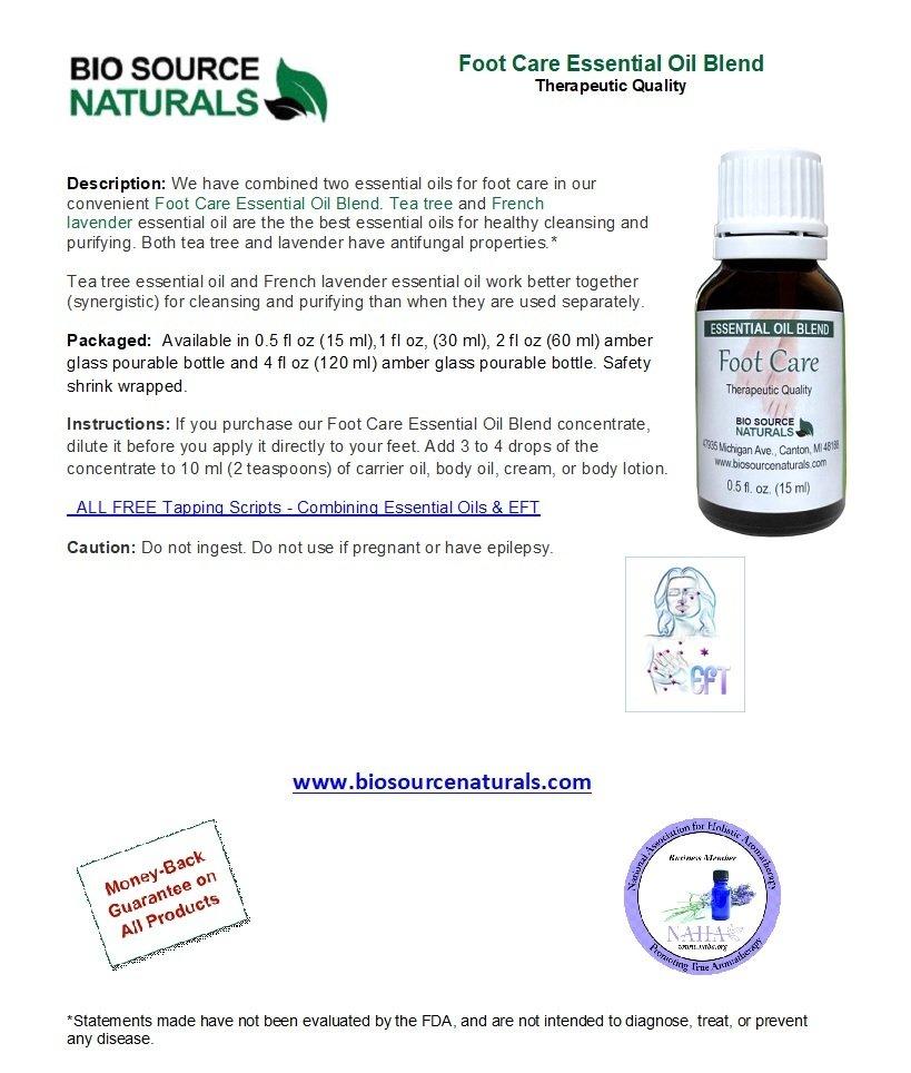 Foot Care Essential Oil Blend 0.5 fl oz (15 ml)