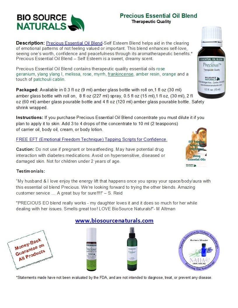 Precious Essential Oil Blend - 2.0 fl oz (60 ml)