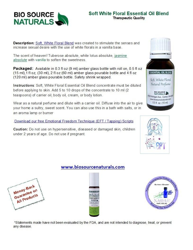 Soft, White Floral Essential Oil Blend - 4.0 fl oz (120 ml)