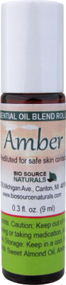 Amber Resin Oil - 0.3 fl oz (9 ml) Roll On