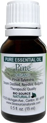 (Scots) Pine Pure Essential Oil -  Organic, Bulgaria - with Analysis Report