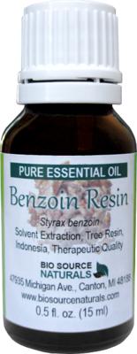 Benzoin Resin Oil