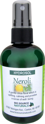 Neroli Hydrosol – Calming Spray 4 fl oz (120 ml)