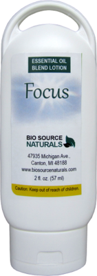 Focus Essential Oil 2 fl oz (60 ml) Lotion