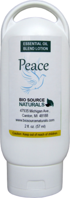 Peace Essential Oil Lotion - 2 fl oz (60 ml)