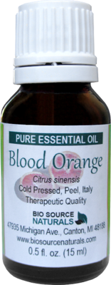 Blood Orange Pure Essential Oil with Analysis Report