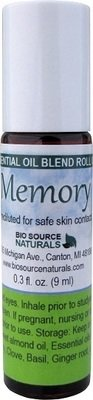Memory Essential Oil Blend - 0.3 fl oz (9 ml) Roll On
