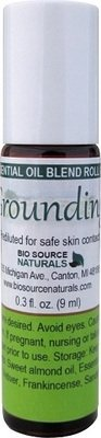 Grounding Essential Oil Blend - 0.3 fl oz (9 ml) Roll On