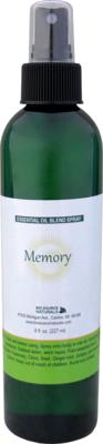 Memory Essential Oil Blend - 8 fl oz (227 ml) Spray