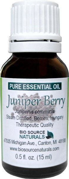 Juniper Berry  (Hungary) Pure Essential Oil with GC Report 00196