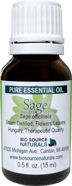 Sage officinalis Pure Essential Oil (Hungary) with GC Report