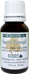 Sweet Fennel Pure Essential Oil - Hungary - with GC Report