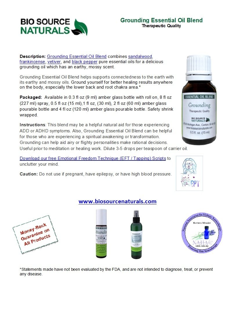 Grounding Essential Oil Blend - 2.0 fl oz (60 ml)