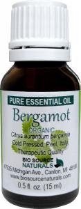 Bergamot Organic Pure Essential Oil 00086