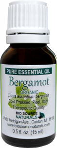 Bergamot Organic Pure Essential Oil