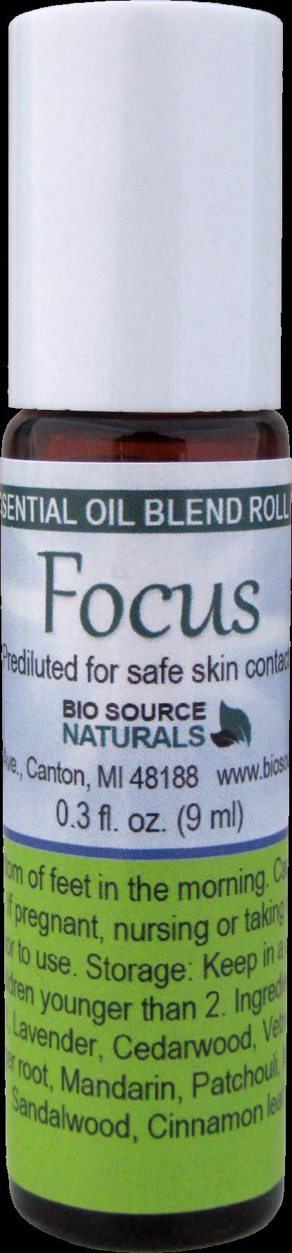 Focus Essential Oil Blend - 0.3 fl oz (9 ml) Roll On BLENDFOCUSR