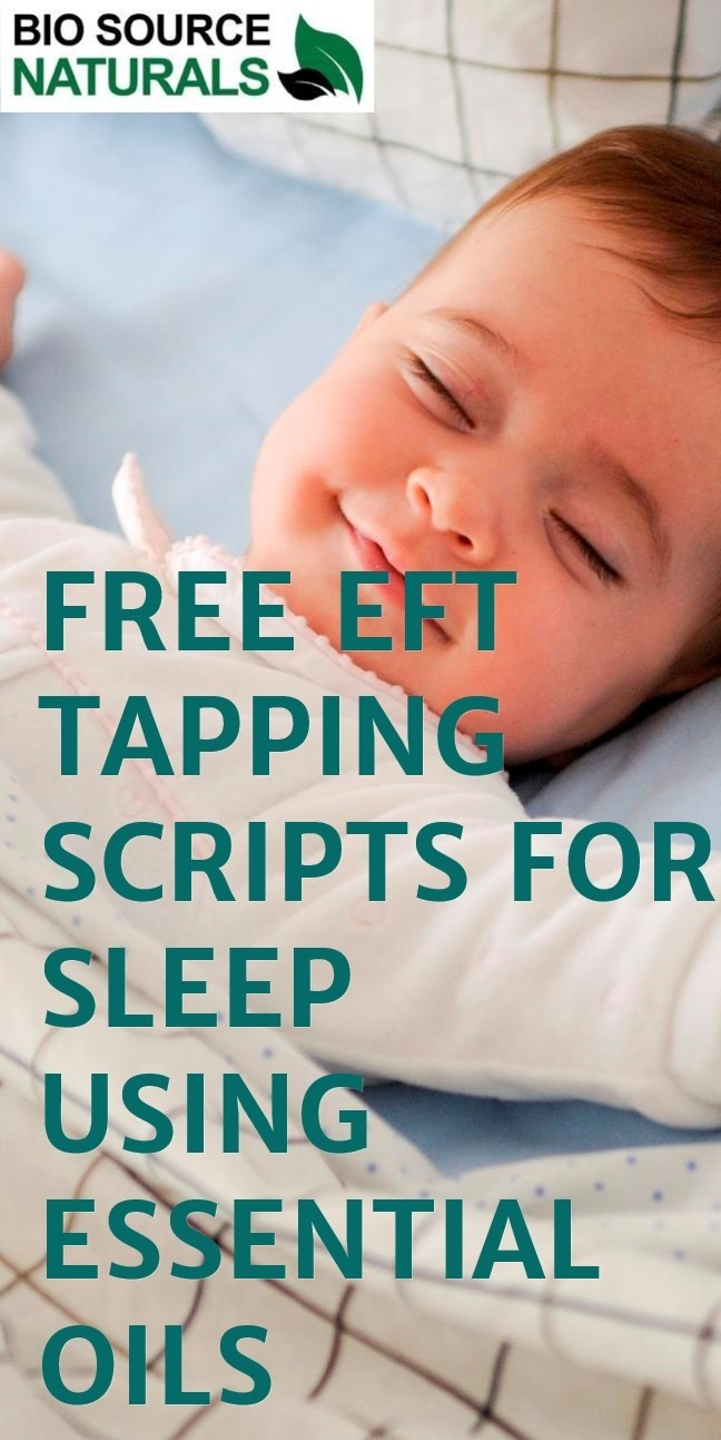 FREE EFT (Emotional Freedom Technique) Tapping Scripts for Sleep  - EOTT™