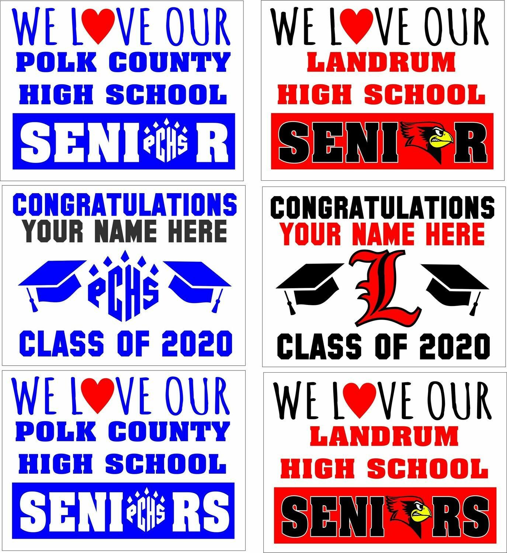 Senior Coro Signs