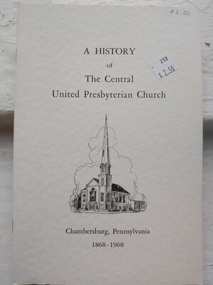 History of the Central Presbyterian Church