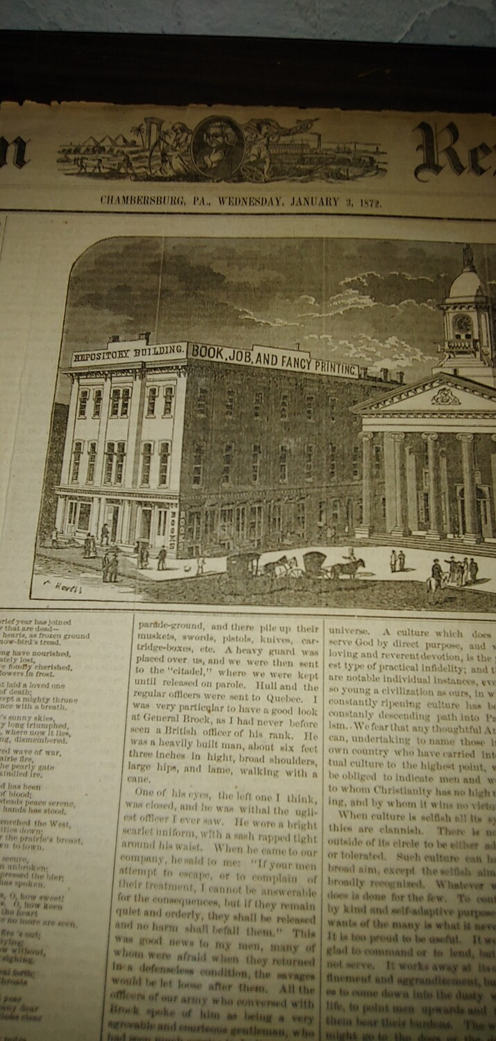 Franklin Repository 1871