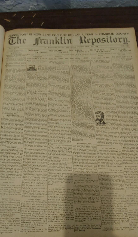 Franklin Repository 1894