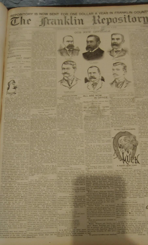 Franklin Repository 1893